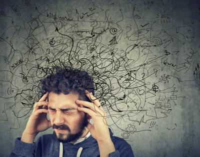 Pessoa que sofre de ansiedade